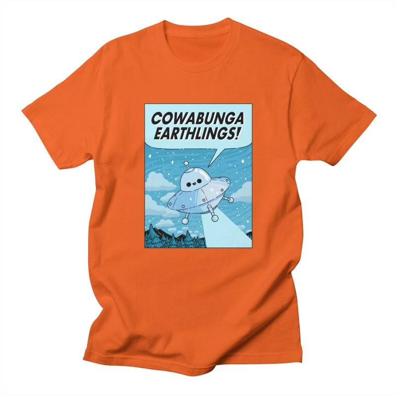 COWABUNGA EARTHLINGS Women's Regular Unisex T-Shirt by GOOD AND NICE SHIRTS