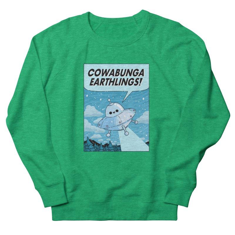 COWABUNGA EARTHLINGS Women's Sweatshirt by GOOD AND NICE SHIRTS