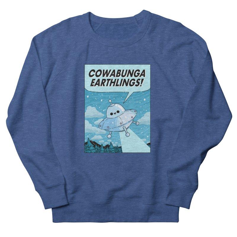 COWABUNGA EARTHLINGS Men's Sweatshirt by GOOD AND NICE SHIRTS