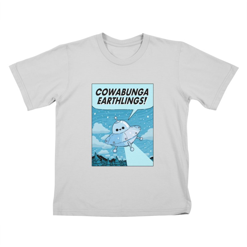 COWABUNGA EARTHLINGS Kids T-Shirt by GOOD AND NICE SHIRTS