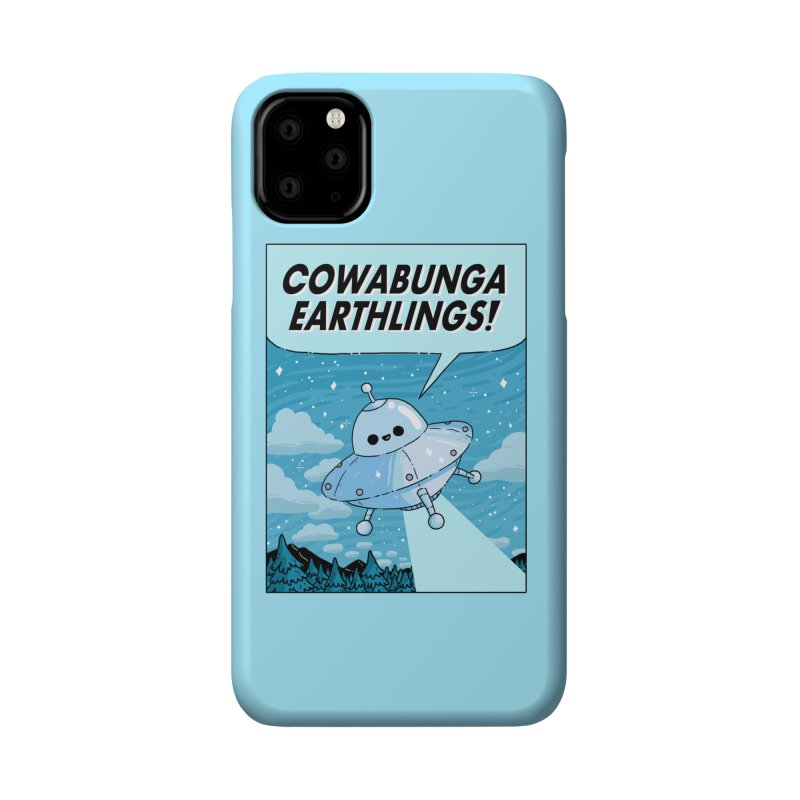 COWABUNGA EARTHLINGS Accessories Phone Case by GOOD AND NICE SHIRTS