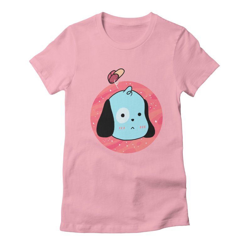 GOOD BOY Women's Fitted T-Shirt by GOOD AND NICE SHIRTS