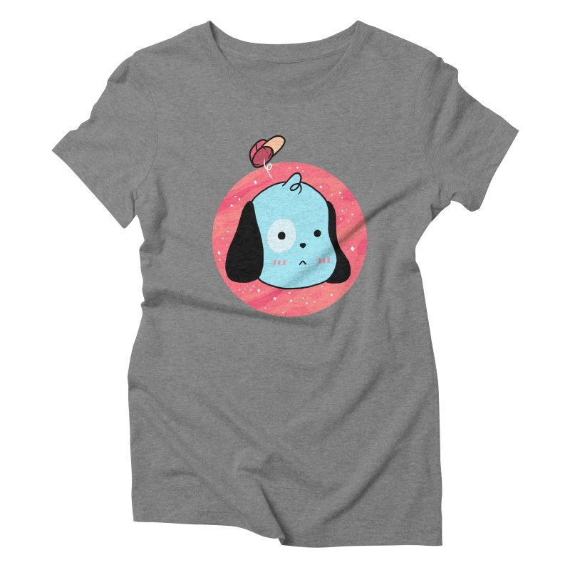 GOOD BOY Women's Triblend T-shirt by GOOD AND NICE SHIRTS