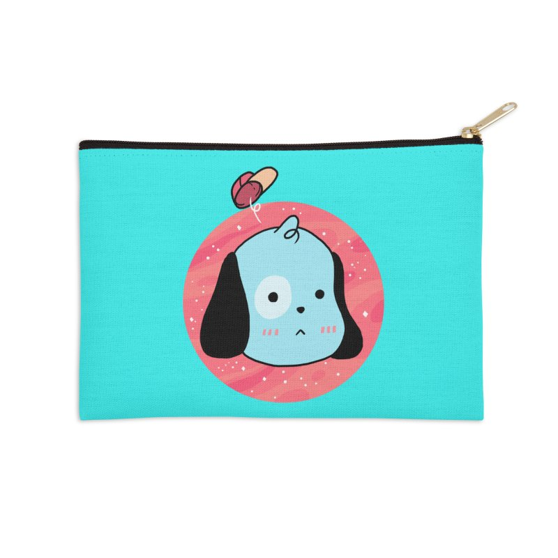 GOOD BOY Accessories Zip Pouch by GOOD AND NICE SHIRTS