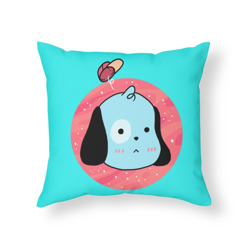 GOOD BOY Home Throw Pillow by GOOD AND NICE SHIRTS