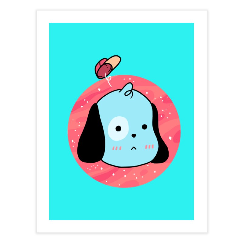 GOOD BOY Home Fine Art Print by GOOD AND NICE SHIRTS