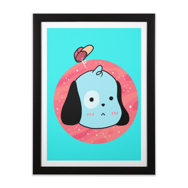 GOOD BOY Home Framed Fine Art Print by GOOD AND NICE SHIRTS