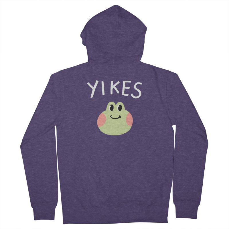 YIKES Men's Zip-Up Hoody by GOOD AND NICE SHIRTS