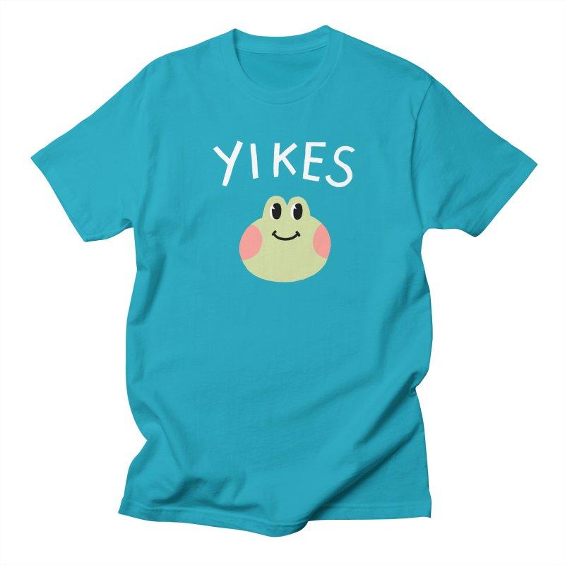 YIKES Women's Regular Unisex T-Shirt by GOOD AND NICE SHIRTS