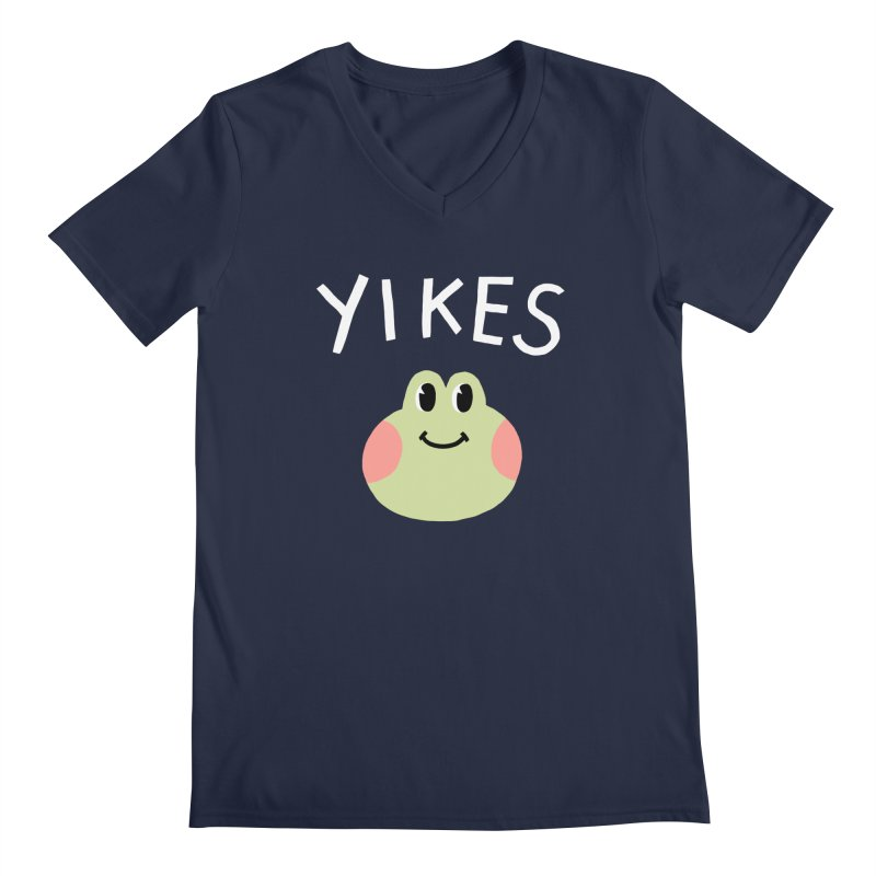 YIKES Men's V-Neck by GOOD AND NICE SHIRTS