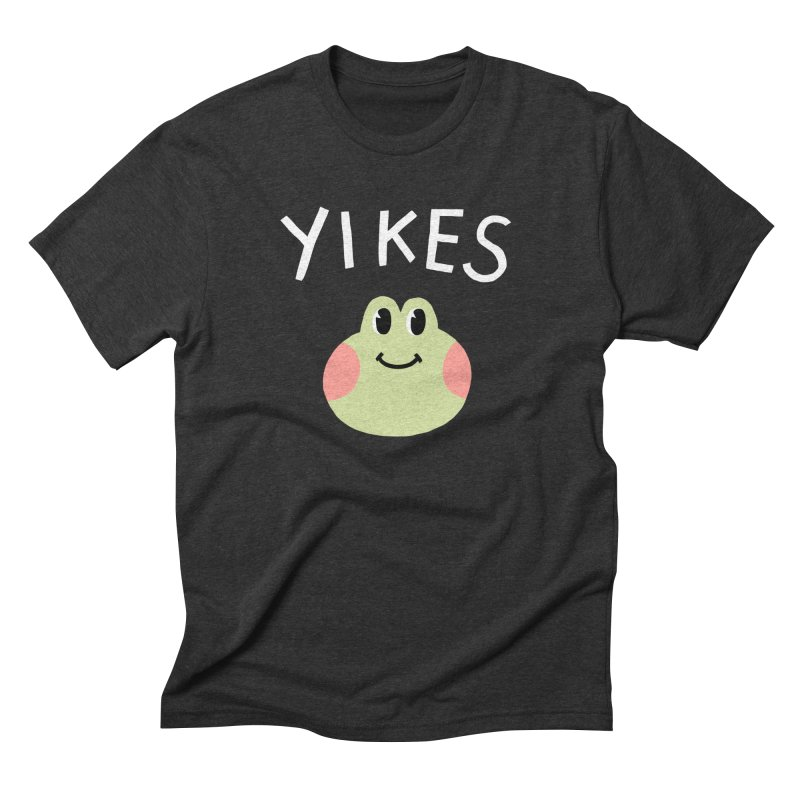 YIKES Men's Triblend T-shirt by GOOD AND NICE SHIRTS
