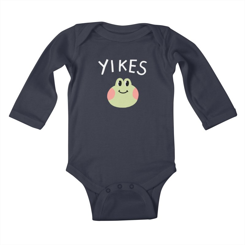YIKES Kids Baby Longsleeve Bodysuit by GOOD AND NICE SHIRTS