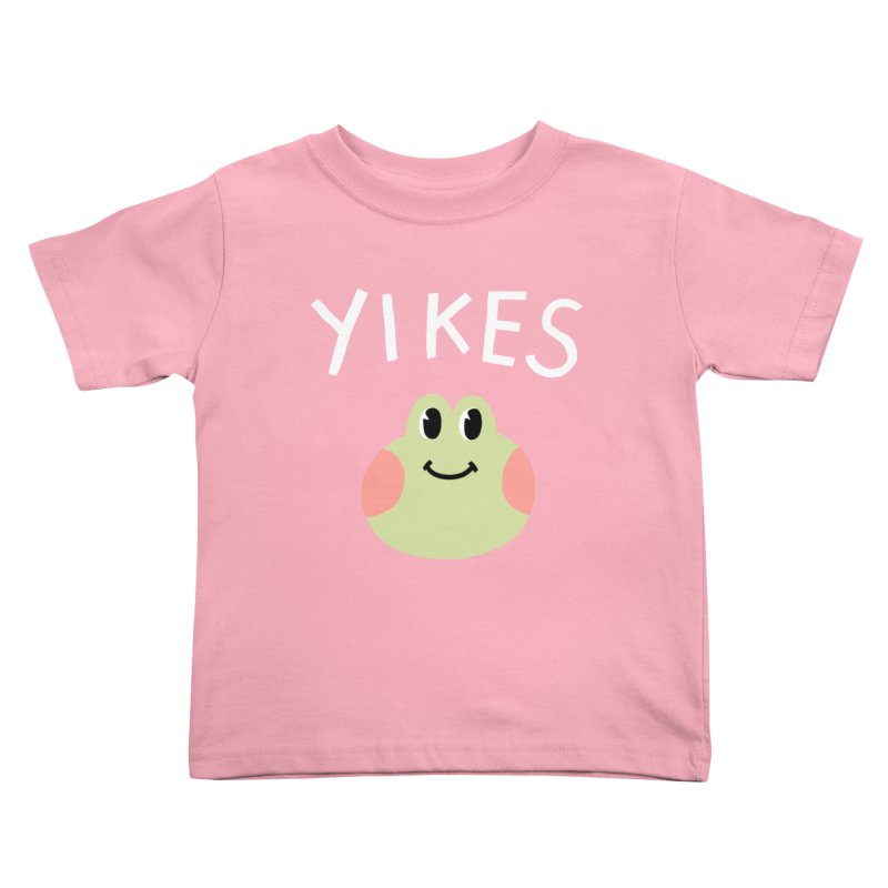 YIKES Kids Toddler T-Shirt by GOOD AND NICE SHIRTS