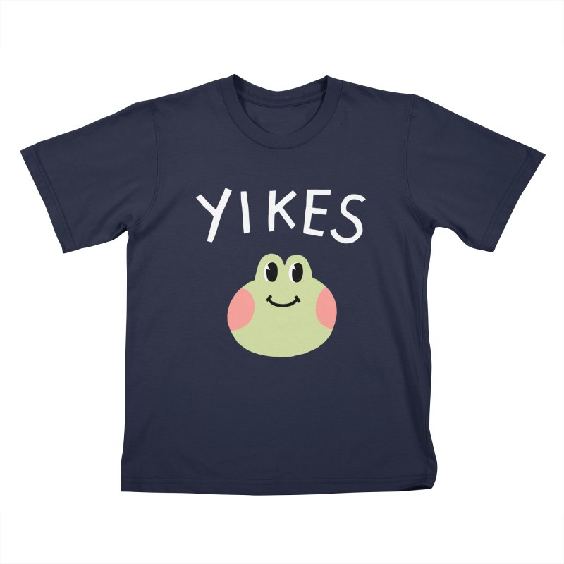 YIKES Kids T-shirt by GOOD AND NICE SHIRTS