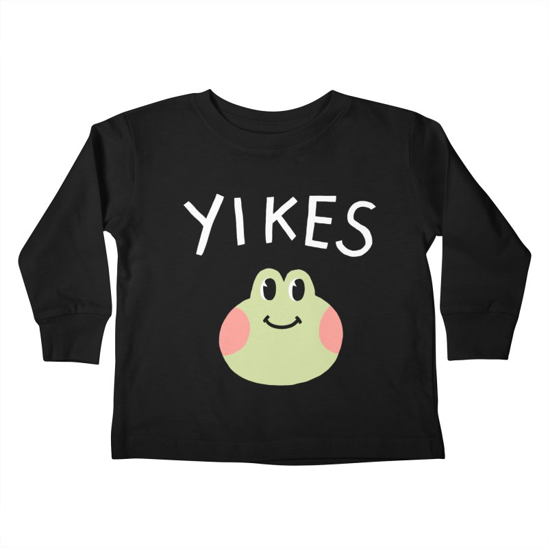 YIKES Kids Toddler Longsleeve T-Shirt by GOOD AND NICE SHIRTS