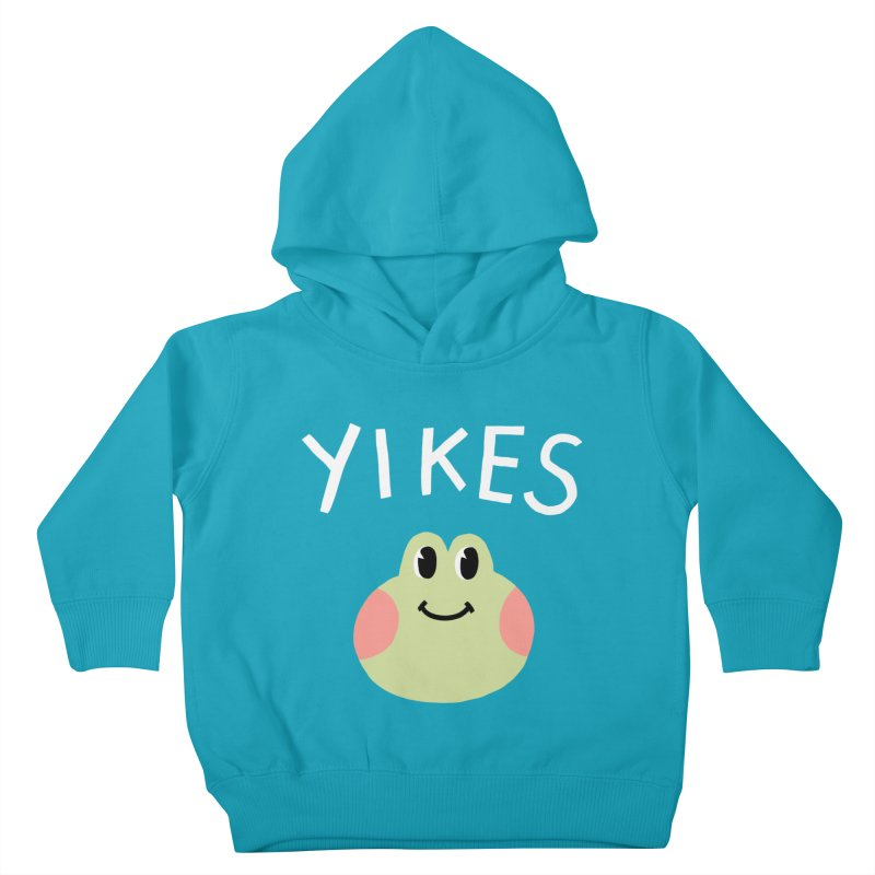 YIKES Kids Toddler Pullover Hoody by GOOD AND NICE SHIRTS