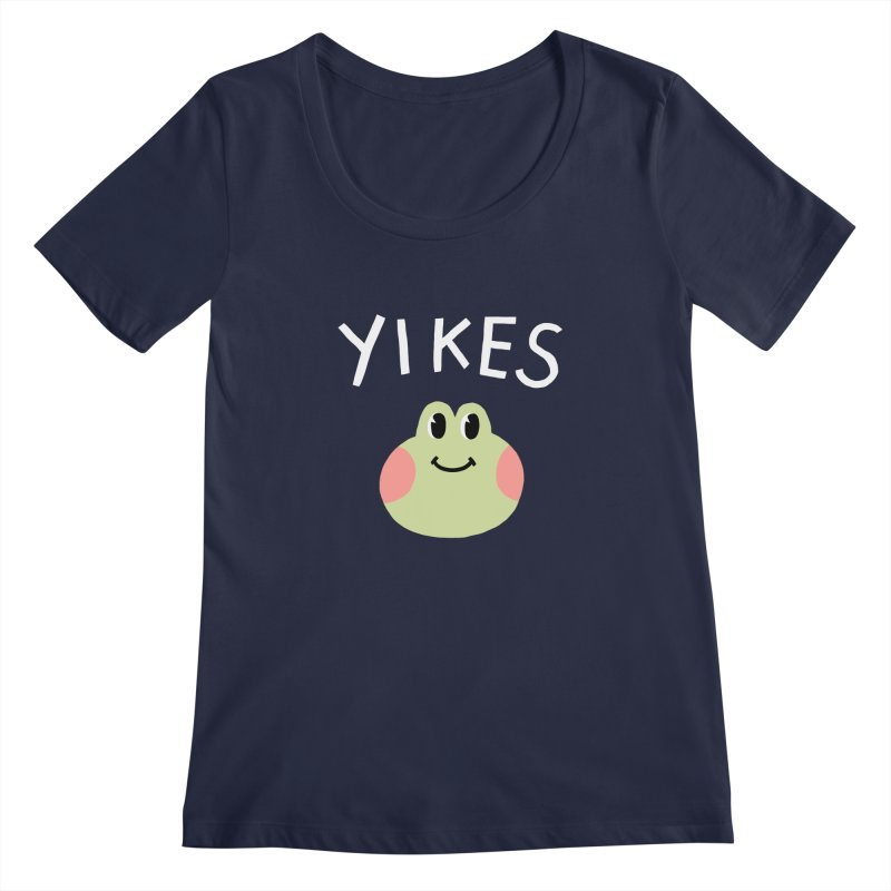 YIKES Women's Scoopneck by GOOD AND NICE SHIRTS