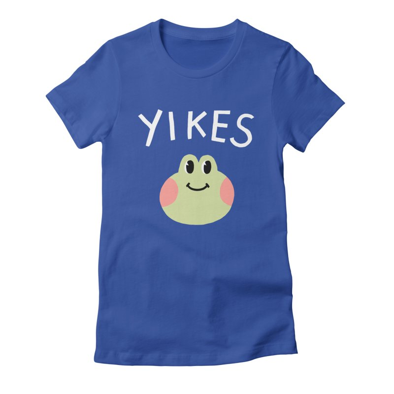 YIKES Women's Fitted T-Shirt by GOOD AND NICE SHIRTS