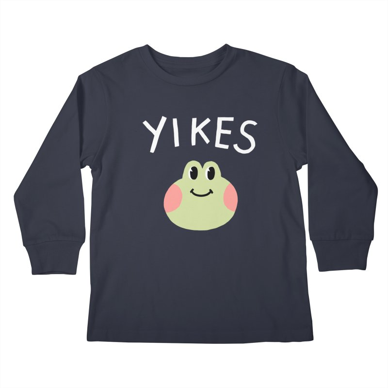 YIKES Kids Longsleeve T-Shirt by GOOD AND NICE SHIRTS