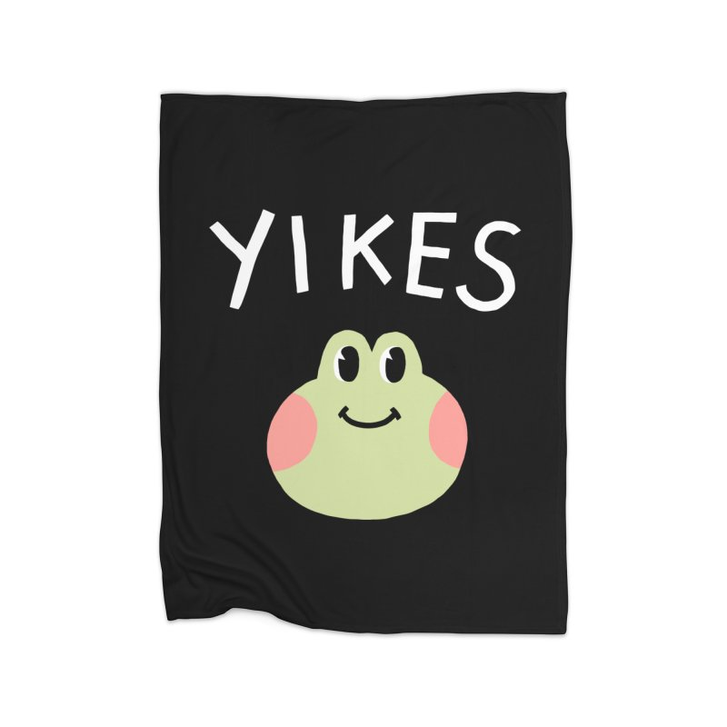 YIKES Home Blanket by GOOD AND NICE SHIRTS