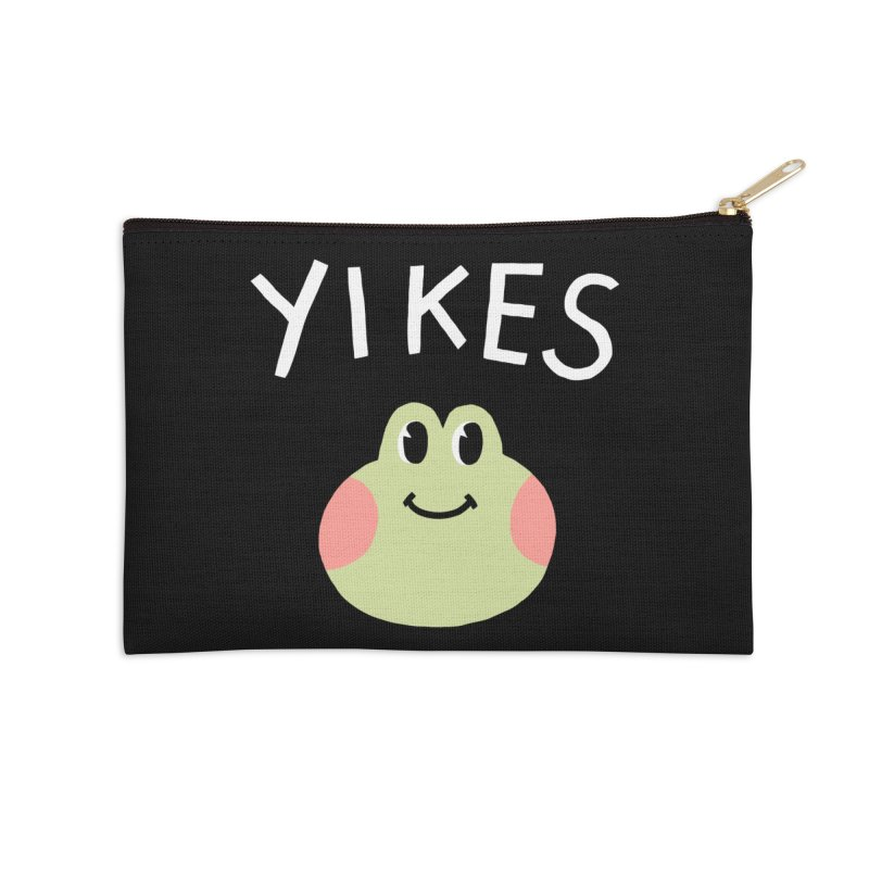 YIKES Accessories Zip Pouch by GOOD AND NICE SHIRTS