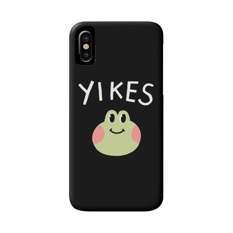 YIKES Accessories Phone Case by GOOD AND NICE SHIRTS