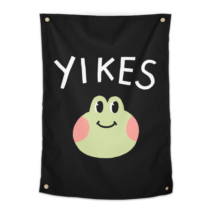 YIKES Home Tapestry by GOOD AND NICE SHIRTS