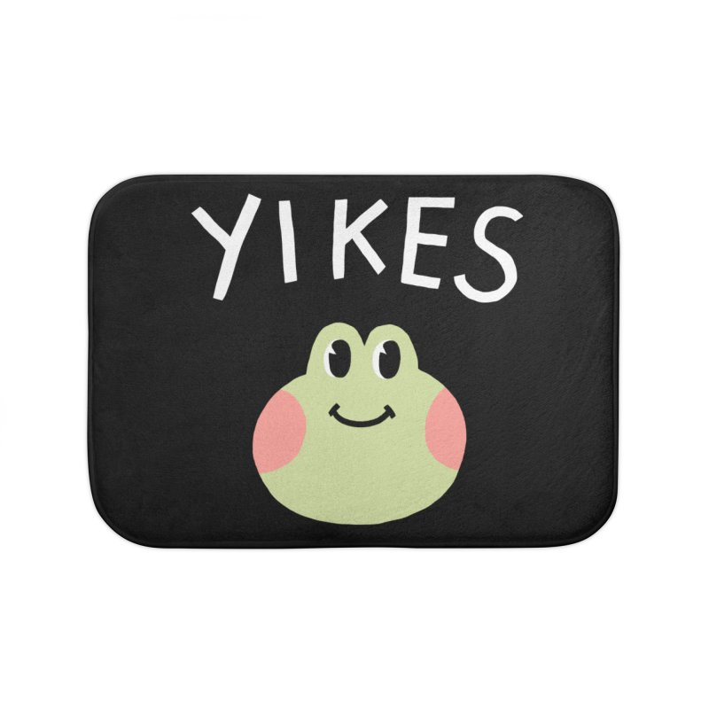 YIKES Home Bath Mat by GOOD AND NICE SHIRTS