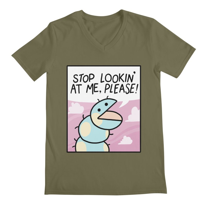 SHY BUG Men's V-Neck by GOOD AND NICE SHIRTS