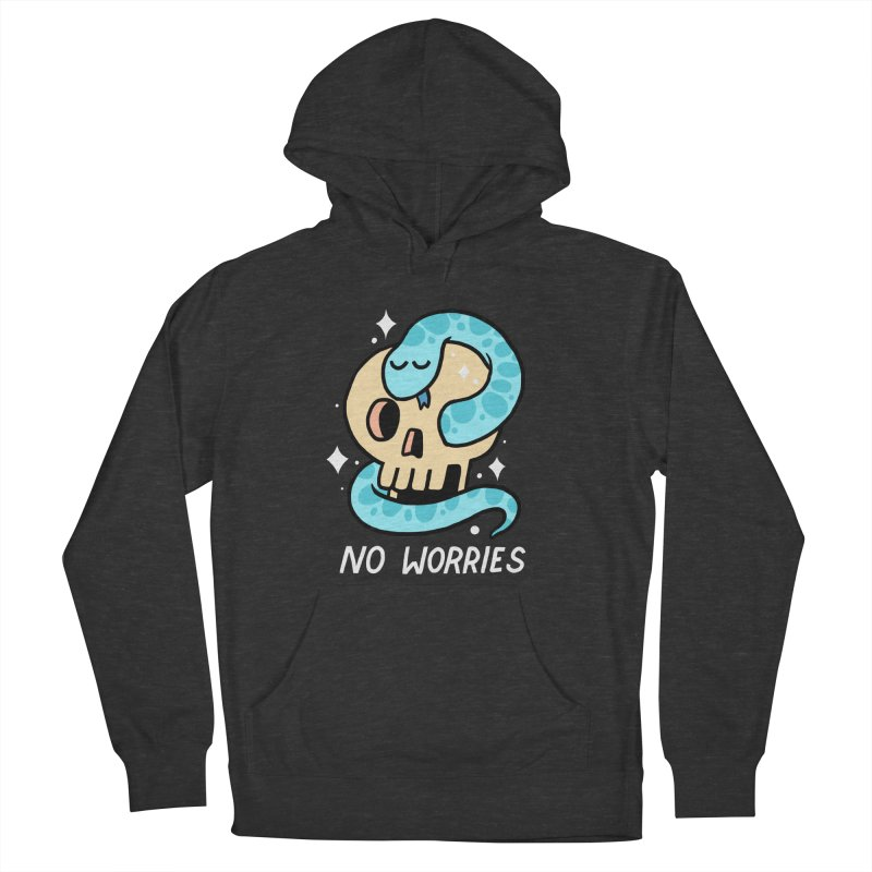 NO WORRIES Women's Pullover Hoody by GOOD AND NICE SHIRTS