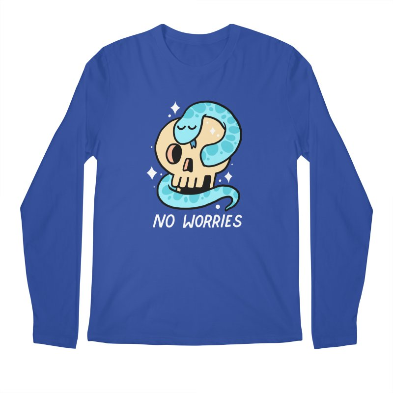 NO WORRIES Men's Longsleeve T-Shirt by GOOD AND NICE SHIRTS