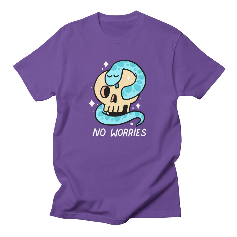 NO WORRIES Women's Unisex T-Shirt by GOOD AND NICE SHIRTS