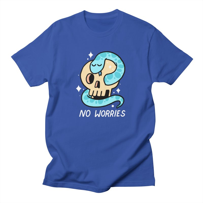 NO WORRIES Men's T-shirt by GOOD AND NICE SHIRTS