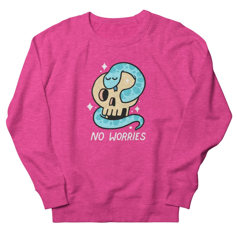 NO WORRIES Women's Sweatshirt by GOOD AND NICE SHIRTS