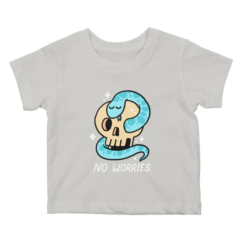 NO WORRIES Kids Baby T-Shirt by GOOD AND NICE SHIRTS