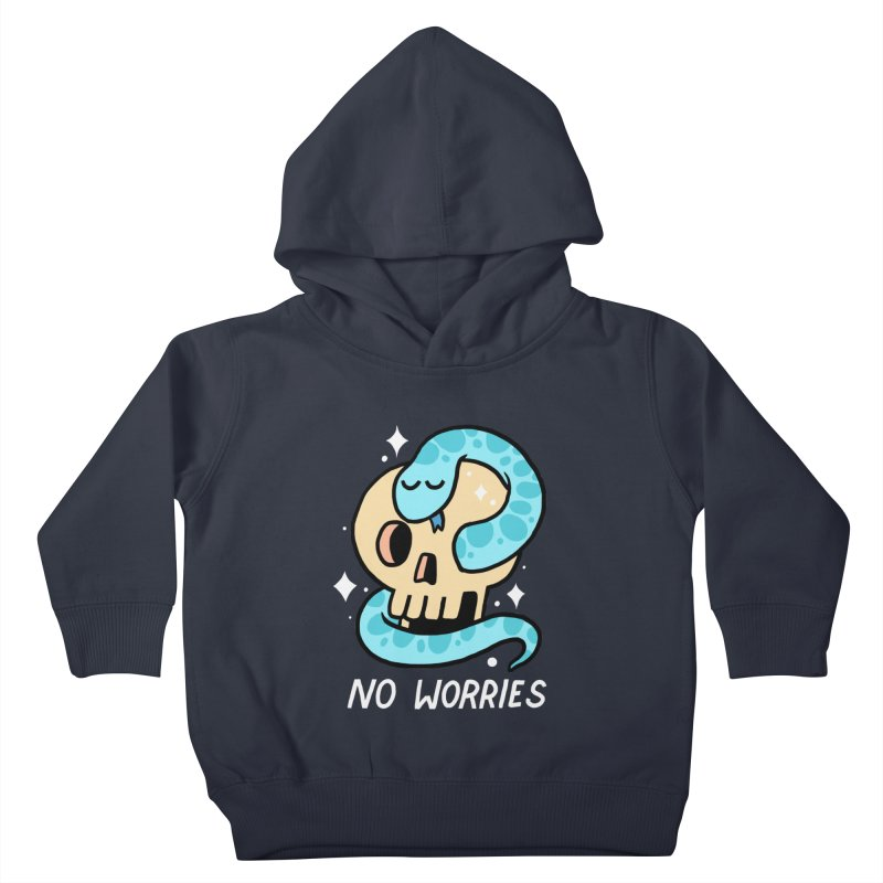 NO WORRIES Kids Toddler Pullover Hoody by GOOD AND NICE SHIRTS