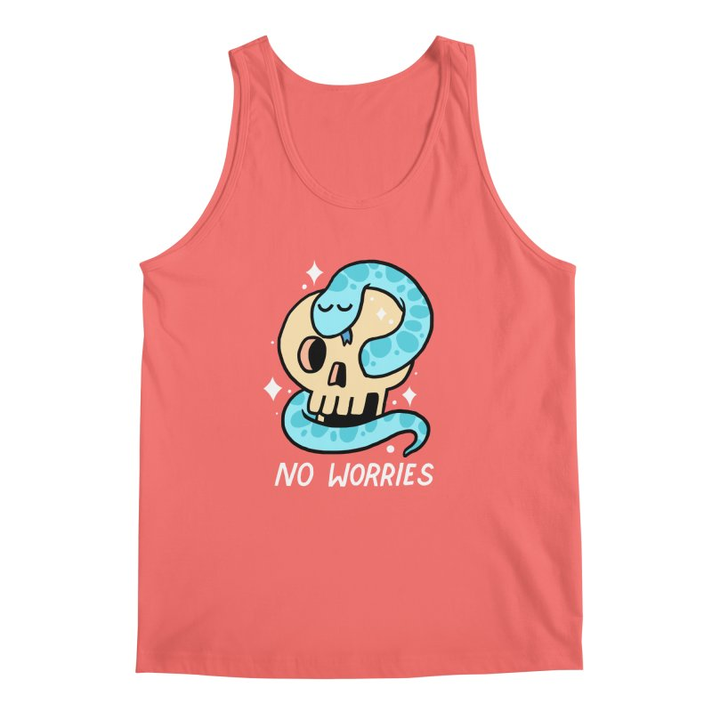 NO WORRIES Men's Tank by GOOD AND NICE SHIRTS