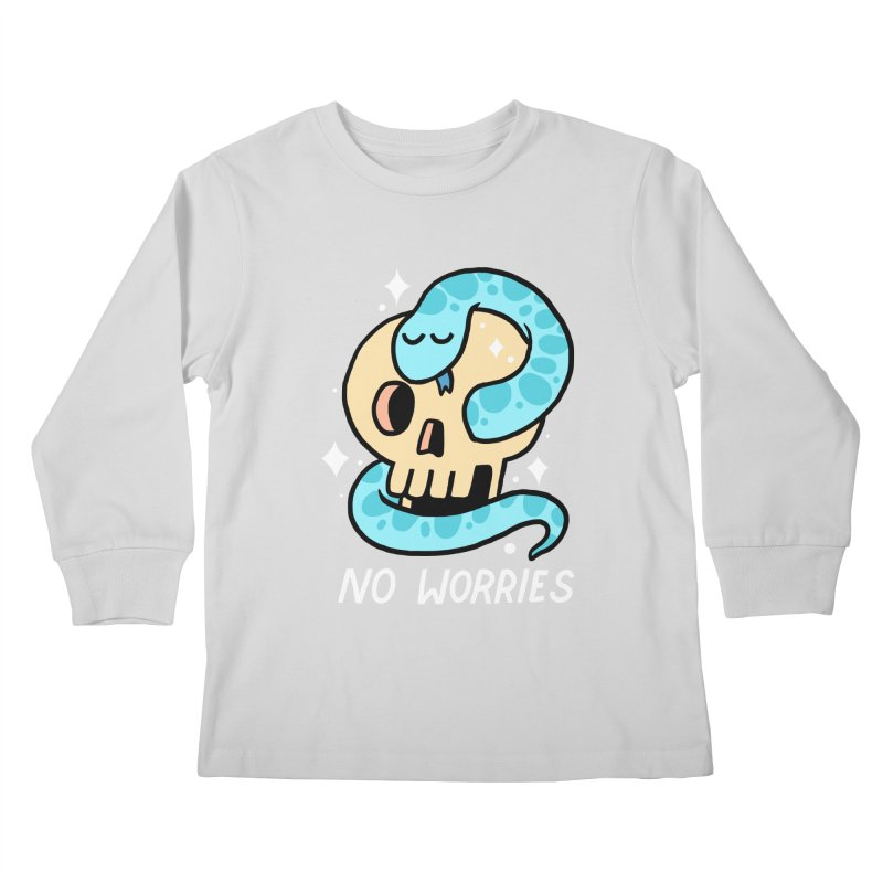 NO WORRIES Kids Longsleeve T-Shirt by GOOD AND NICE SHIRTS