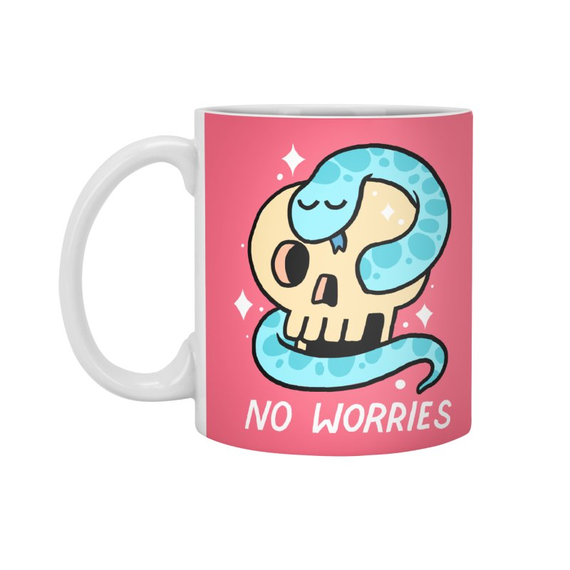 NO WORRIES Accessories Mug by GOOD AND NICE SHIRTS