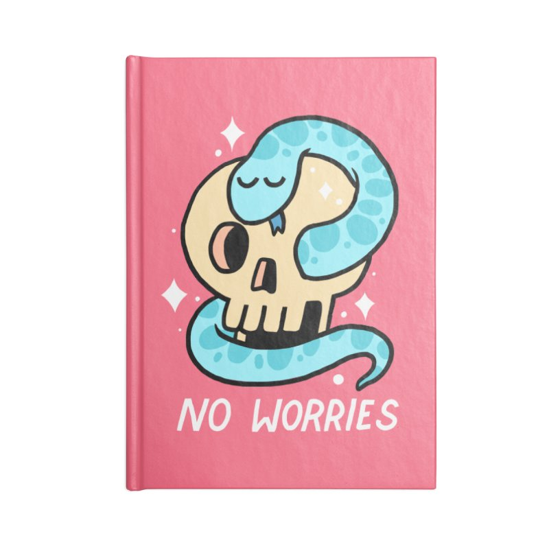 NO WORRIES Accessories Notebook by GOOD AND NICE SHIRTS