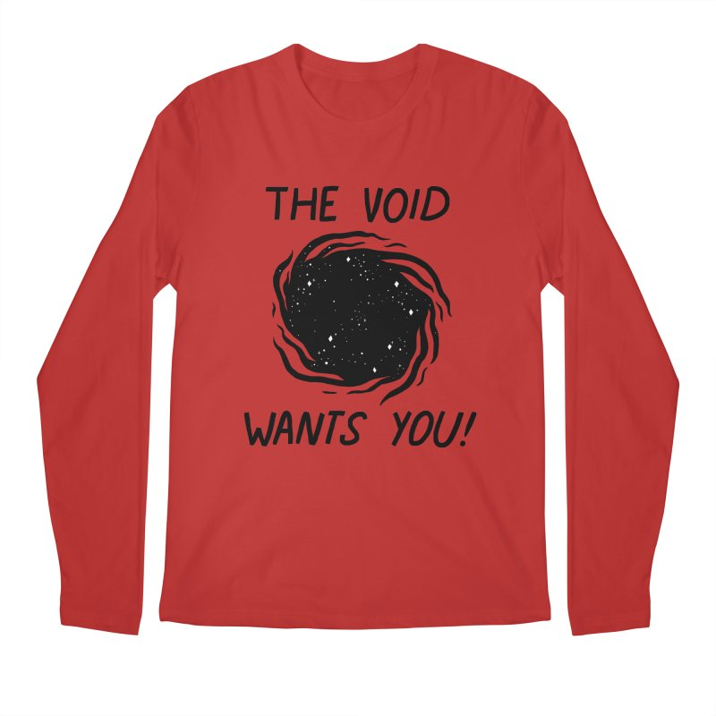 THE VOID Men's Longsleeve T-Shirt by GOOD AND NICE SHIRTS