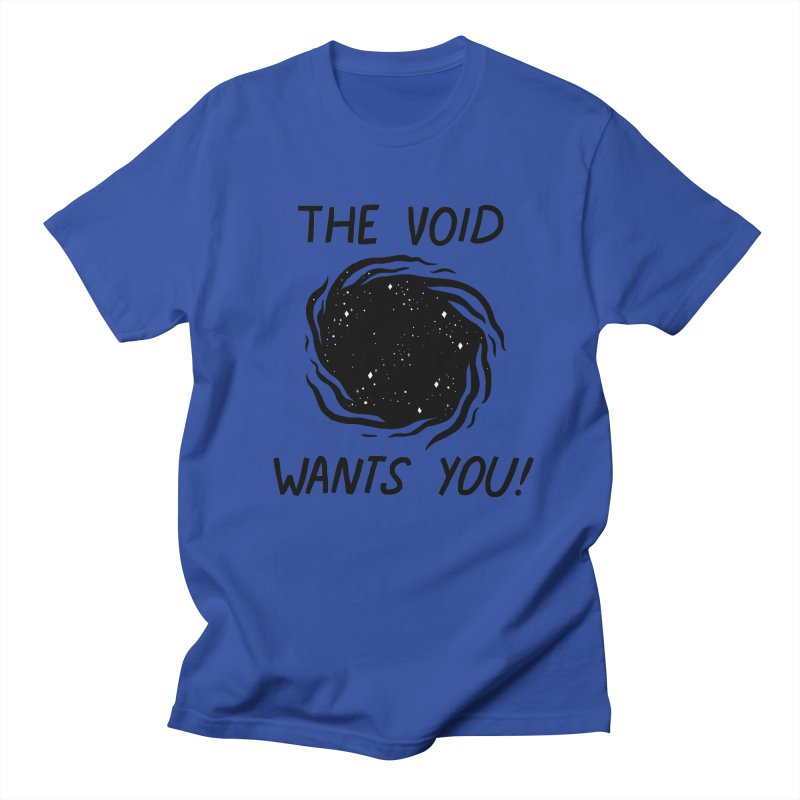 THE VOID Men's Regular T-Shirt by GOOD AND NICE SHIRTS