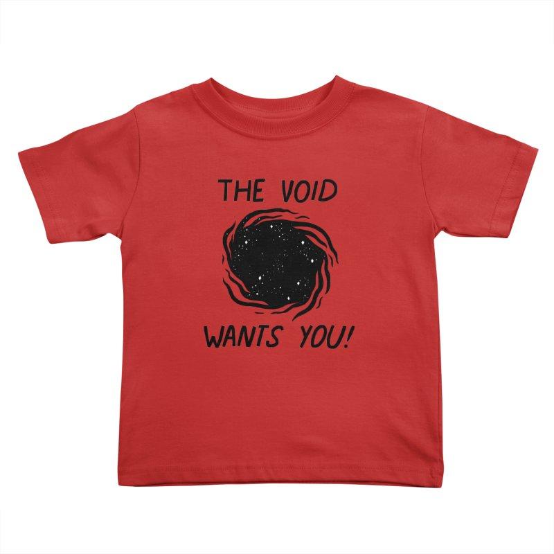 THE VOID Kids Toddler T-Shirt by GOOD AND NICE SHIRTS