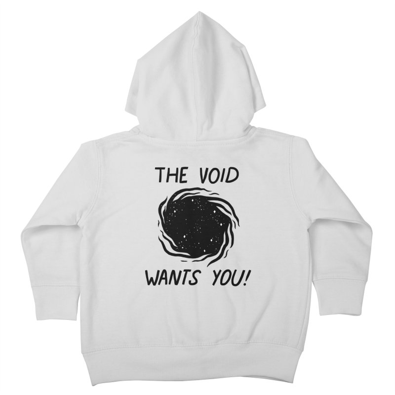 THE VOID Kids Toddler Zip-Up Hoody by GOOD AND NICE SHIRTS