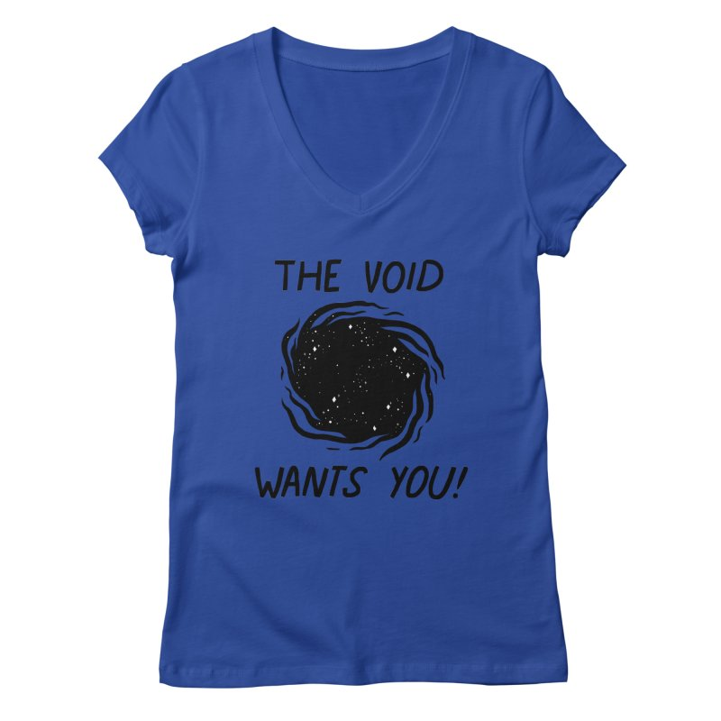 THE VOID Women's V-Neck by GOOD AND NICE SHIRTS