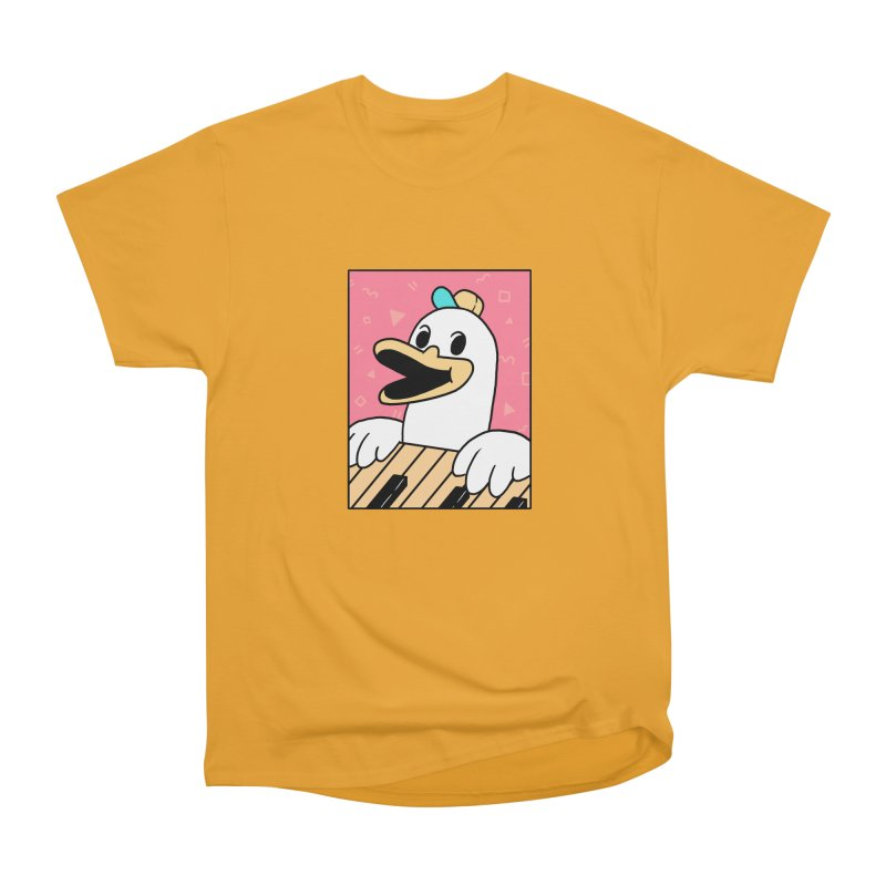 SYNTH DUCK  Women's Classic Unisex T-Shirt by GOOD AND NICE SHIRTS
