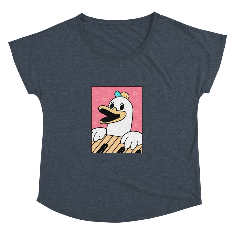SYNTH DUCK  Women's Dolman by GOOD AND NICE SHIRTS
