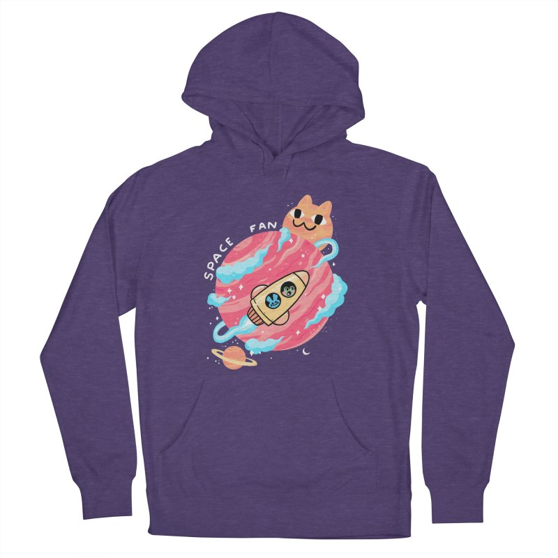SPACE FAN Women's Pullover Hoody by GOOD AND NICE SHIRTS