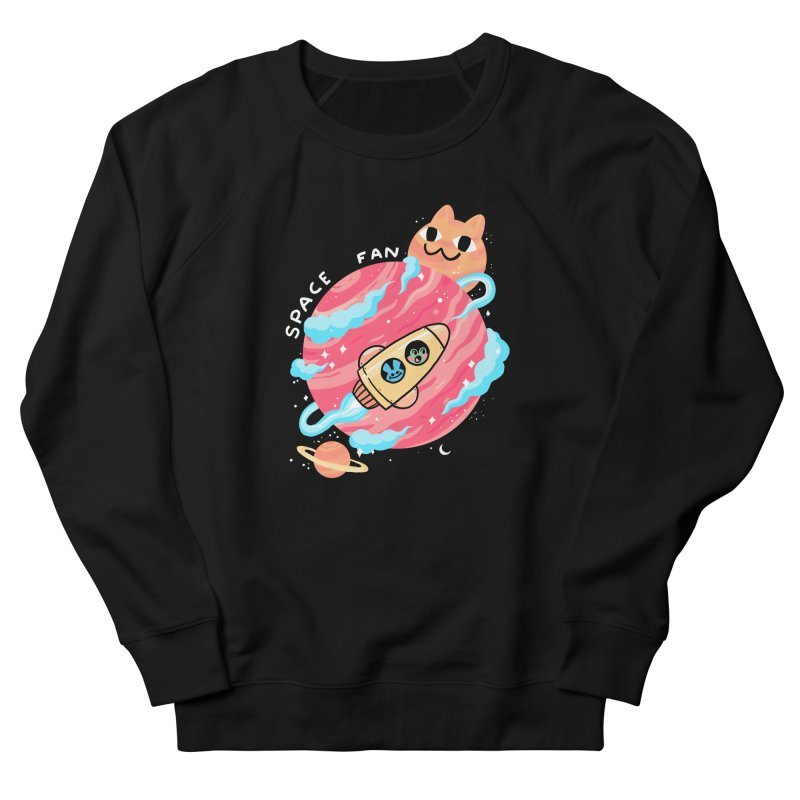 SPACE FAN Women's Sweatshirt by GOOD AND NICE SHIRTS