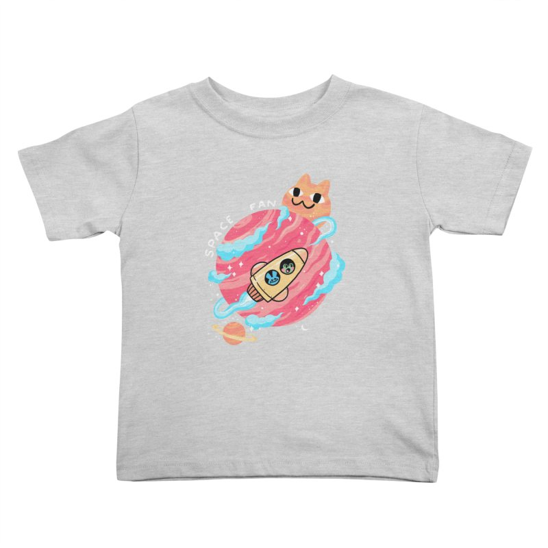 SPACE FAN Kids Toddler T-Shirt by GOOD AND NICE SHIRTS